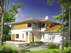 Propozycja dla inwestorów, którzy cenią komfortową, doskonale doświetloną przestrzeń. Wyjątkowy styl domu podkreśla atrakcyjnie zaakcentowane wykończenie elewacji.To dom, który harmonijnie dopasuje się do miejskiego krajobrazu.