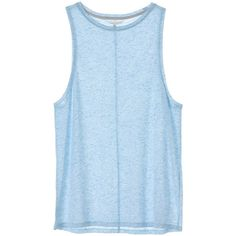 Victoria's Secret Low-Armhole Tank ($20) ❤ liked on Polyvore