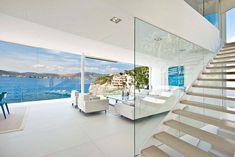 Mallorca waterfront designer villa for sale 4 Would Buying This Glazed Waterfront Designer Villa Make You Happier?