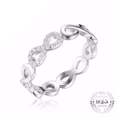 Infinity Love Promise Ring