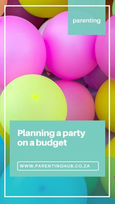 By the time this column is published we will be well into Lockdown Level 1 which means we can again start having parties for our kids – with all the proper precautions of course! Saving Tips, Saving Money, Financial Tips, Happy Kids, Our Kids, Parenting Advice, Say Hello, Tween, Keep It Cleaner