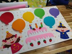 밴드로 놀러오세요~~^^(블러그 댓글은 답이 어려워요ㅠㅠ) : 네이버 블로그 Diy And Crafts, Arts And Crafts, Baby Education, Birthday Board, Classroom Decor, Plastic Cutting Board, Happy Birthday, Cricut, Kids Rugs
