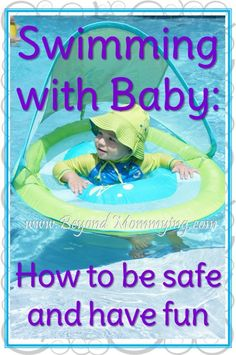 Taking Baby Swimming: tips for being safe and having fun with baby in the pool [. - Summer Family Essentials - Women's Need Swimming Tips, Baby Swimming, Baby Pool, Baby Swimsuit, Cute Photography, Baby Health, Baby Safe, Happy Baby, Summer Baby