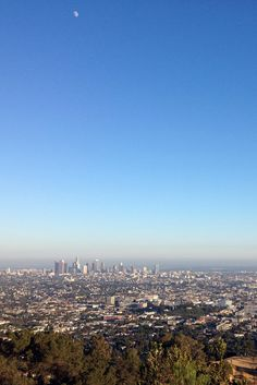 Los Angeles - the only thing brighter than my beloved Carolina Blue sky (minus the smog!)