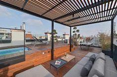 수영장과 피트니스 공간을 갖춘 옥상에, 식사 공간까지!