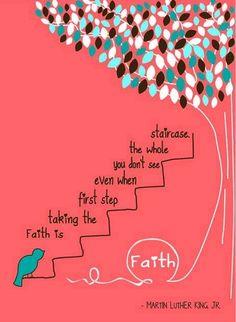 Faith quote via Living Life at www.Facebook.com/LivingLife2TheFull