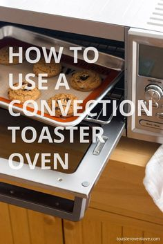 7 Things You Should Know About Convection Toaster Ovens. Learn the secret to better tasting cookies and how to keep from baking the driest cake ever. via /toasterovenlove/ Toaster Oven Cake Recipe, Toaster Oven Cooking, Convection Oven Cooking, Countertop Convection Oven, Toaster Oven Recipes, Toaster Ovens, Cooking Pumpkin, Cooking Bacon, Cooking Tips