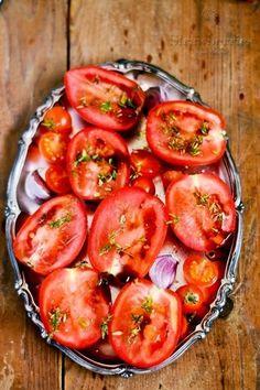 Strawberries from Poland: Symultaniczne suszenie (suszone pomidory w oliwie)