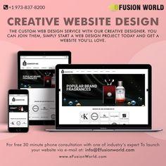 Start A Website, Custom Web Design, Web Design Projects, Responsive Web Design, Web Design Services, Website Designs, Creative Design, Join, Product Launch