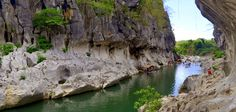 Minalungao National Park, Nueva Ecjia, Philippines. Crap, I did NOT know that a place as beautiful as this existed here!