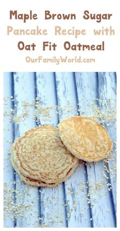 Your healthy breakfast just got easier thanks to Better Oats Oat Fit! Try them in this yummy pancake recipe! Peanut Butter Breakfast, Breakfast Bake, Easy Healthy Breakfast, Best Breakfast, Breakfast Recipes, Breakfast Ideas, Brown Sugar Pancake Recipe, Yummy Pancake Recipe, Healthy Baking