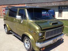 """""""Mother's Nightmare"""" custom 81 GMC van"""