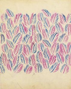 Textile Designs by Raoul Dufy