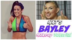 You guy's asked for it, you guys got it! Bayley's signature soft look. Flattering on everyone of all ages and eye shapes, this easy look is great to have in . Nxt Divas, Makeup Inspiration, Brittany, Superstar, Wwe, Inspired, Youtube, Fashion, Moda