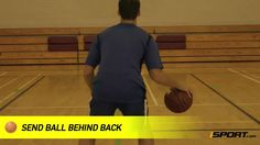 How to Dribble Behind the Back in Basketball