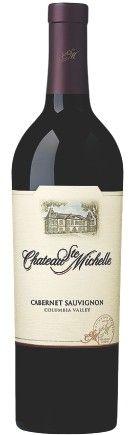 VINHO TINTO CHATEAU STE MICHELLE CABERNET SAUVIGNON - Vinhos Winebrands  R$108