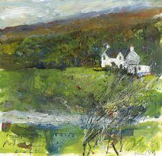 'Ardnarmurchan' by Kurt Jackson Kurt Jackson, Landscape Artwork, Abstract Landscape, Abstract Art, Famous Artists, British Artists, St Just, Historia Natural, Rustic Art