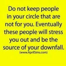 Don't let people be the source of your downfall