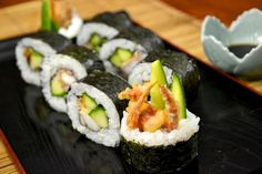 spider rolls... i want these in and around my mouth RIGHT NOW.