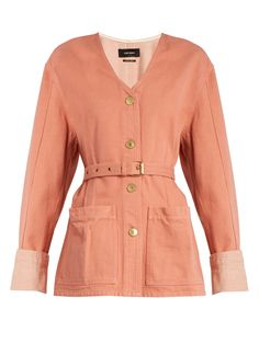 Click here to buy Isabel Marant Estil cotton-denim jacket at MATCHESFASHION.COM