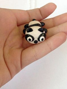 #cute #panda #necklace #polymerclay #LittlePandahugs