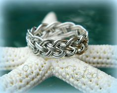 Hey, I found this really awesome Etsy listing at https://www.etsy.com/listing/153413248/sterling-silver-8-strand-woven-ring