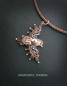 bird pendant by nastya-iv83 on DeviantArt