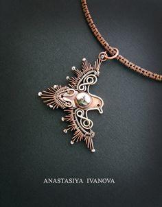 bird pendant by nastya-iv83 on DeviantArt