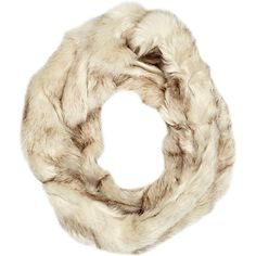 Cream faux fur twist snood - scarves - accessories - women