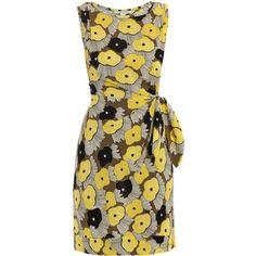 Diane Von Furstenberg New Della dress ($465) ❤ liked on Polyvore