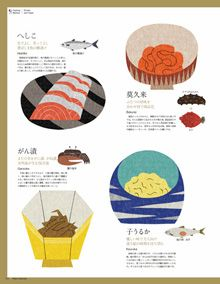 Ryo Takemasa is Japan's Charley Harper. I love everything he does from food to animals to city life.