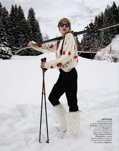 ahhhh wanna go skiing again Ski Fashion, Sport Fashion, Winter Fashion, Photo Ski, Mode Au Ski, Ski Vintage, Apres Ski Outfits, Elissa, Vive Le Sport