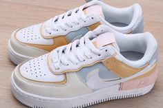 """A brand new Nike Air Force 1 Shadow """"Spruce Aura"""" is available online today at FitMySole! Now with free express shipping to worldwide! Dr Shoes, Hype Shoes, Jordan Shoes Girls, Girls Shoes, Cute Sneakers, Shoes Sneakers, Sneakers Mode, Adidas Sneakers, Souliers Nike"""