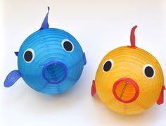 Paper Lantern Fish DIY