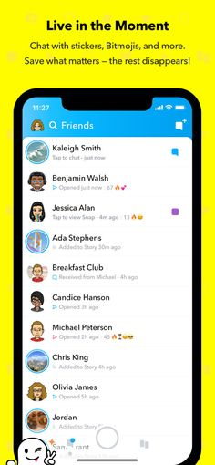Snapchat on the AppStore