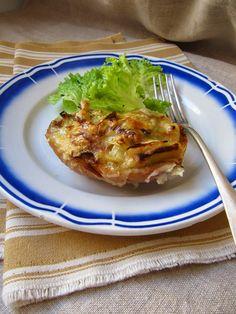 La cuisine d'ici et d'ISCA: Tartines de poireau au maroilles
