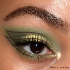 Edgy Makeup, Makeup Eye Looks, Eye Makeup Art, Fairy Makeup, Pretty Makeup, Skin Makeup, Makeup Inspo, Eyeshadow Makeup, Makeup Inspiration