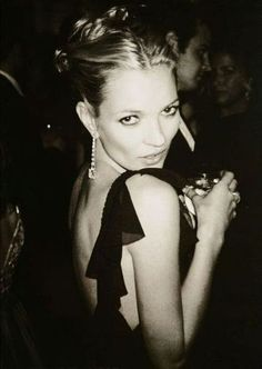 One of my favorite inspirations. Bold, rebellious, beautiful, Kate Moss.