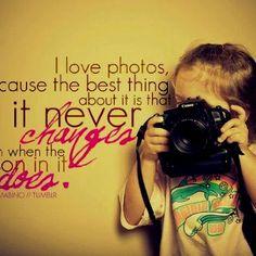 I love taking photos ;)