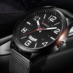 CURREN Watch Designer Quartz Wristwatch