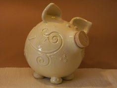 cute! Piggy bank.