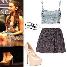 7d16e849c1 Ariana Grande ❤her style is perfect gt  gt  Fashion Killa