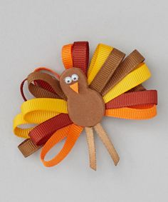 Take a look at this Brown Loop Turkey Clip on zulily today!