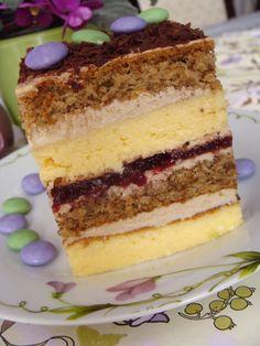 Polish Desserts, Polish Recipes, Russian Recipes, Mini Cakes, Christmas Baking, Yummy Cakes, Cake Cookies, Bakery, Good Food
