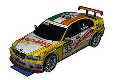 2007 BMW 320i WTCC E46 Wiechers Sport Paper Car Free Vehicle Paper Model Download - http://www.papercraftsquare.com/2007-bmw-320i-wtcc-e46-wiechers-sport-paper-car-free-vehicle-paper-model-download.html#124, #320I, #BMW, #BMW320I, #E46, #PaperCar, #VehiclePaperModel