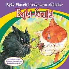 """Bajki-Grajki nr 79 """"Ryży Placek i trzynastu zbójców""""  Ilustracja: Artur Gołębiowski  www.bajki-grajki.pl"""