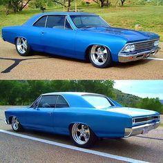 1966 Chevelle in Nassau Blue. Chevelle Chevrolet, 1966 Chevelle, Chevrolet Malibu, Custom Muscle Cars, Best Muscle Cars, American Muscle Cars, Harley Gear, Automobile, Roadster