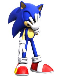 """Sonic the Hedgehog - """"Way to go, knucklehead!"""" (Sonic Adventure quote)"""