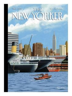 Bruce McCall  The New Yorker Cover - September 20, 2004 Premium Giclee Print