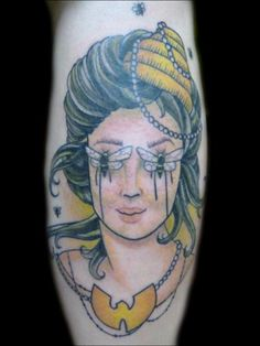 Lady Head Tattoo by Taylor Anne  MysticOwlTattoo.com